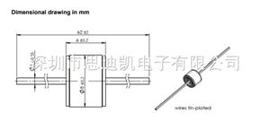 陶瓷气体放电管 800V EF800X B88069X2641S102 防** 避**