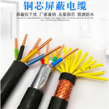 阻燃屏蔽通信电缆- ZRC-HYAP