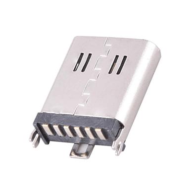 TYPE-C6P母座立式贴板H10.5