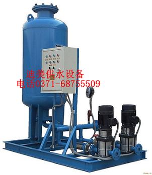 Bladder floor expansion tank (constant pressure water supplement device)