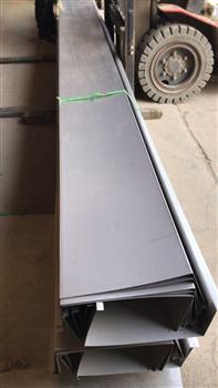 六米不銹鋼天溝剪折成品加工