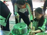 儿童磨豆浆-东莞亲子儿童磨豆浆活动