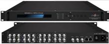 8路MPEG-2标清编码器 宾馆数字电视IPTV必用 带字幕二维码