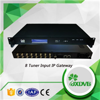 Tuner转IPTV网关LHWX800-8多路卫星接收码流机