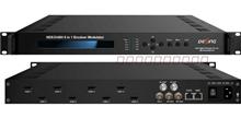 酒店数字电视8路高清编码调制一体机MPEG-4