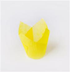 纯色郁金香纸杯蛋糕纸耐烤防油面包纸托彩色款纸杯印**色火焰杯