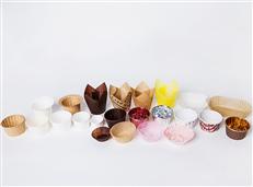 厂家定制一次性防油纸蛋糕烘焙纸杯 彩色雪媚娘纸托