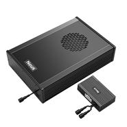 纽斯Smart Air666含低音炮DSP功放三分频汽车音响