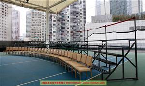 上海合影架租赁大合影集体照台阶出租多层孤行不锈钢站架