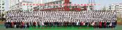 上海集体照合影台阶站架租赁大合影拍摄