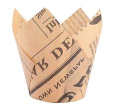 郁金香蛋糕纸杯托硅油纸火焰杯防油耐高温家用烘焙包装厂家