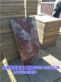 免烧砖竹胶板 水泥砖机船板