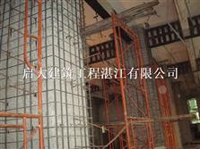玉林结构柱增大截面加固