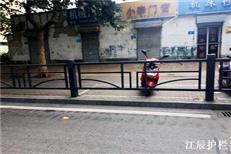 城市街道隔离栏杆