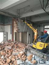 专业承接长沙室内外拆除价格实惠机械拆除