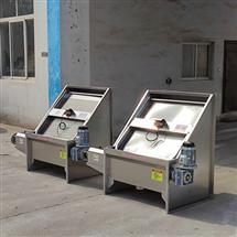 鼎越环保升级加厚不锈钢板斜筛式固液分离机经久耐用
