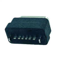 TYPE-C6P防水母座立式插板H6.1