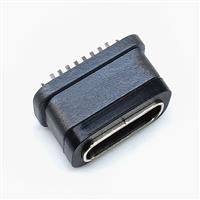 TYPE-C8P防水母座立插H6.1