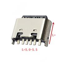 TYPE-C6P母座立式插板L5.0