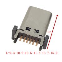 TYPE-C 6P母座A款立式插板...