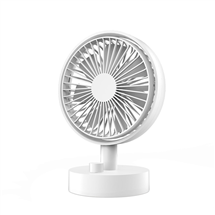 Oscillating desktop fan