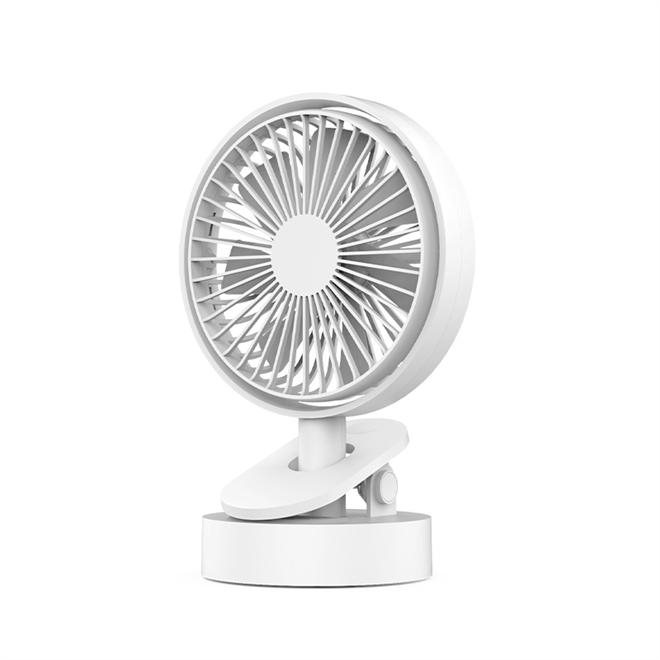 Oscillating clip fan
