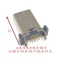 TYPE-C16P母座立式插板L=9...