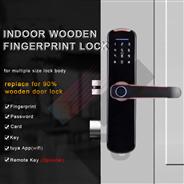 WF-007B WAFU Fingerprint Indoor Lock with tuya wifi Smart Security Door Lock for Home/Hotel