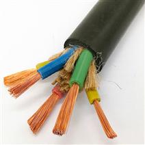 4*2.5编织屏蔽控制电缆KVV