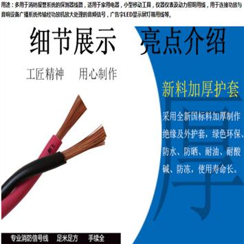 无卤阻燃同轴电缆WDZ-SYY