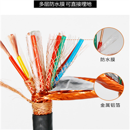 DJVPVRP 编织分屏 编织总屏 软电缆