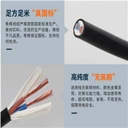 高温控制信号电缆KFFP22 5*1.5