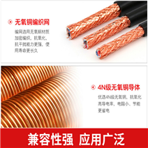 KVV22铜芯铠装控制电缆2*2