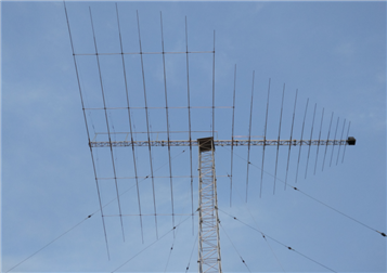 短波旋轉對數周期天線