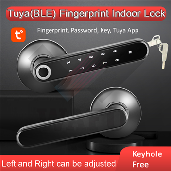 WAFU WF-016B Smart Tuya Bluetooth Fingerprint Indoor Lock for All kinds of Wooden Door