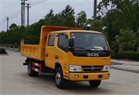 东风多利卡双排自卸式垃圾车