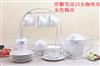浮雕雪花15頭茶具