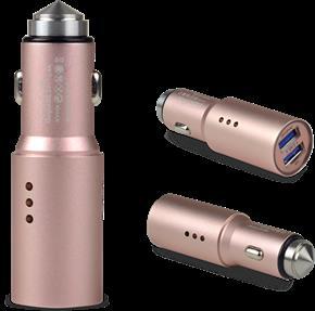 負離子車載空氣凈化器(安全錘)