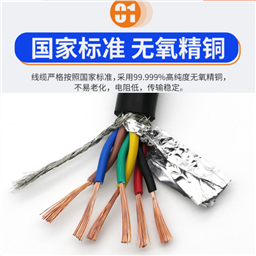 耐高温计算机电缆ZRDJFFPR 10*2*1.5