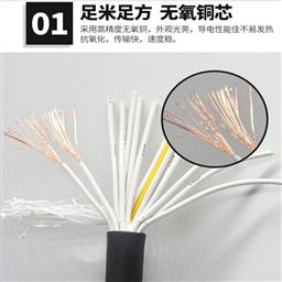 绝缘电阻计算机电缆线ZRDJYPVP16*2*1.0信号线