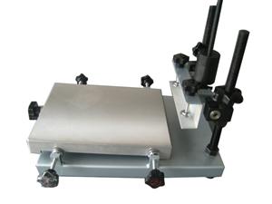 铸铝台面手动平面手印台
