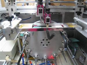 曲面網印機