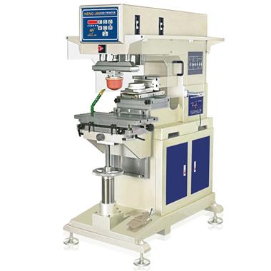 气动单色油盅式移印机