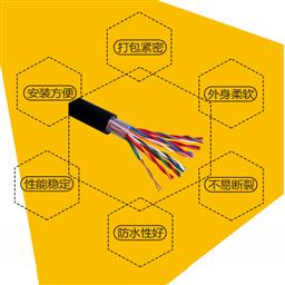 RVVP屏蔽线信号线2*0.75