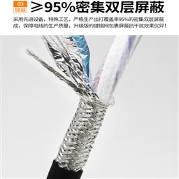 MHYVP矿用电缆5*2*0.5