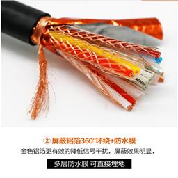ZR-DJYVP8*2*0.5电缆