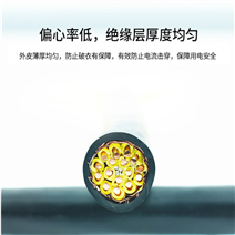 MHYVP-1×5×7/0.28铜丝编织...