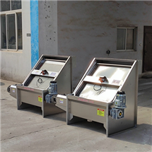 斜筛式固液分离机,操作简单,厂家直供