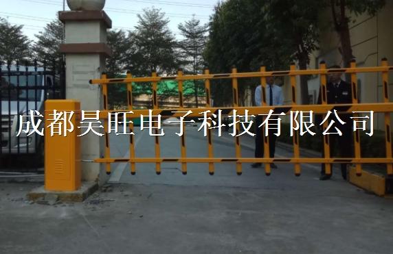 成都车辆进出栅栏道闸门杆三层供应