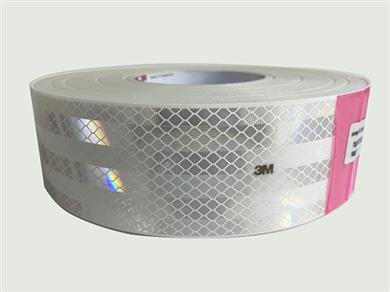 3M 983-10ES 欧标白色车身反光标识53.5mm50m XA010030600